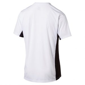 Puma Cross the Line Shirt weiß Rückseite