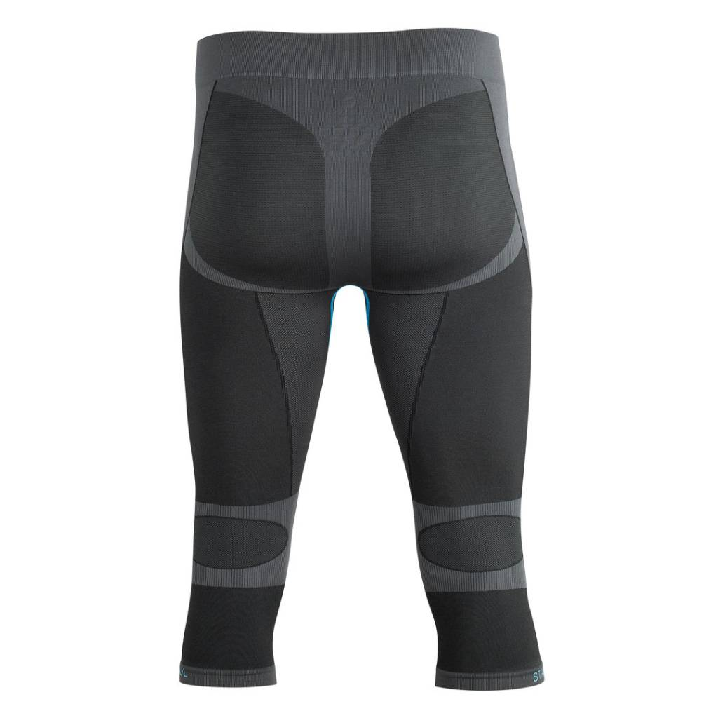 Seamless Base Layer 3/4 Funktionshose hinten