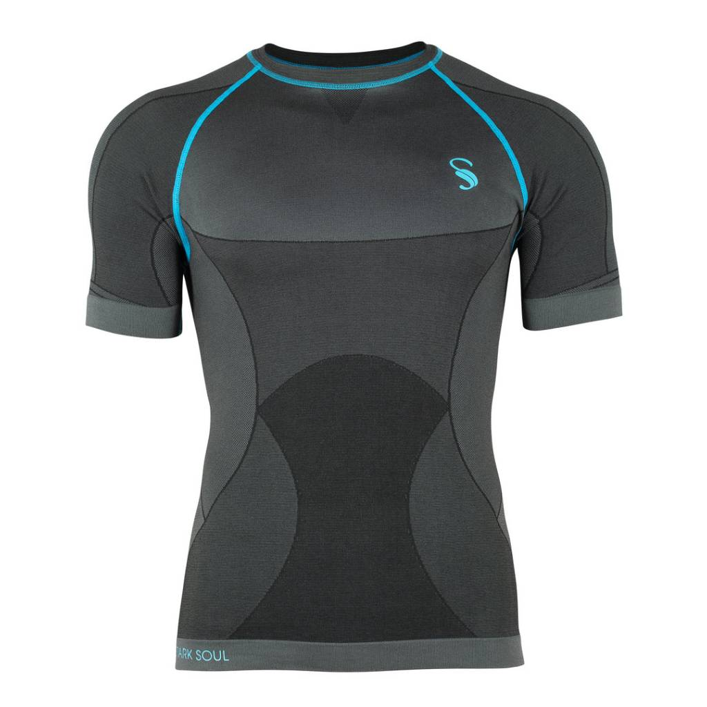 Seamless Base Layer Kurzarm Funktionsshirt