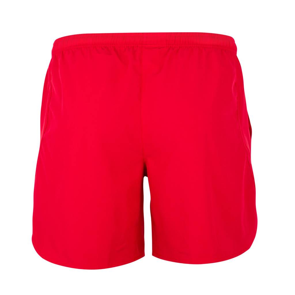 Performance Sport Short, Trainingshose, unisex, rot hinten