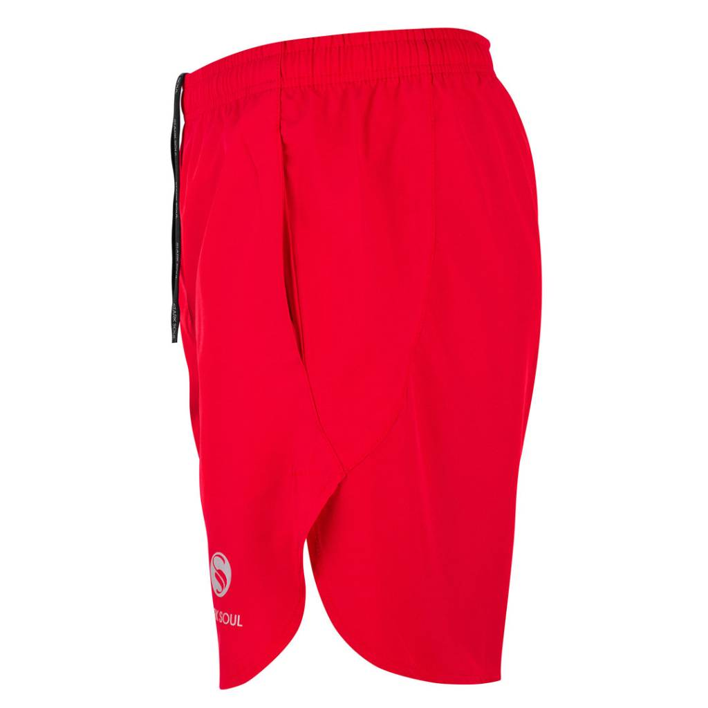 Performance Sport Short, Trainingshose, unisex, rot seite