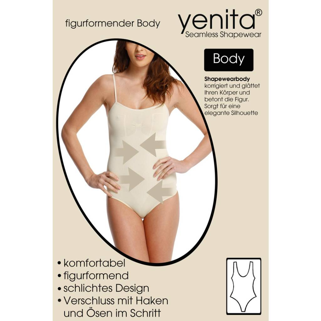 Figurformender Seamless Body mit Brust, Microfaser Pack