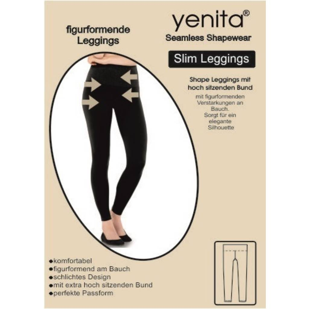Seamless Slim Leggings, figurformend Pack