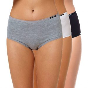 "High Waist Slip Baumwolle ""Cotton Stretch"" Farbmix"
