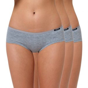 "Hipster Slip Baumwolle ""Cotton Stretch"" grau"