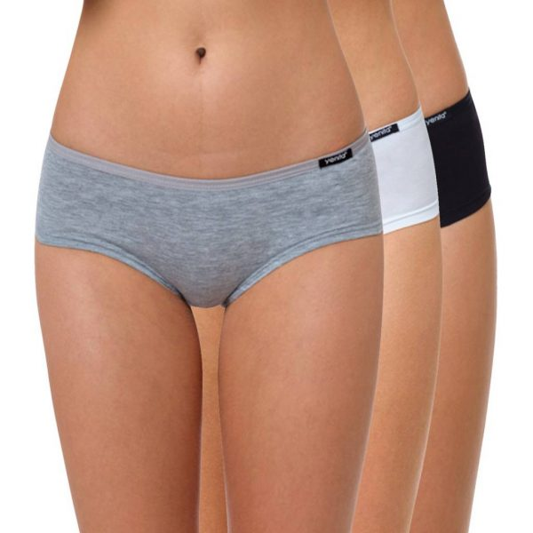 """Hipster Slip Baumwolle """"Cotton Stretch"""" Farbmix"""