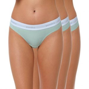 "Baumwoll Tanga Damen ""SPORT COLLECTION"" mintgrün"
