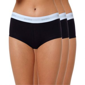"Damen Baumwoll Panty ""SPORT COLLECTION"" schwarz"
