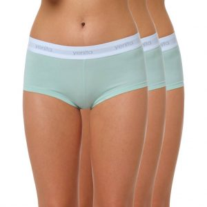 "Damen Baumwoll Panty ""SPORT COLLECTION"" mintgrün"