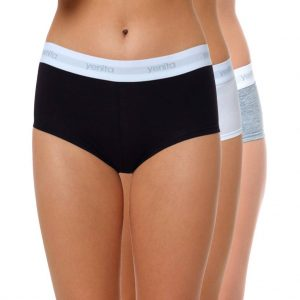 "Damen Baumwoll Panty ""SPORT COLLECTION"" Farbmix 1"