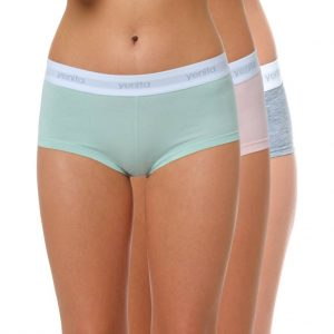 "Damen Baumwoll Panty ""SPORT COLLECTION"" Farbmix 2"