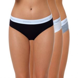 "Baumwoll Bikini Slip Damen ""SPORT COLLECTION"" Farbmix 1"