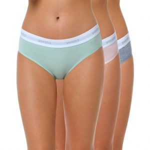 "Baumwoll Bikini Slip Damen ""SPORT COLLECTION"" Farbmix 2"