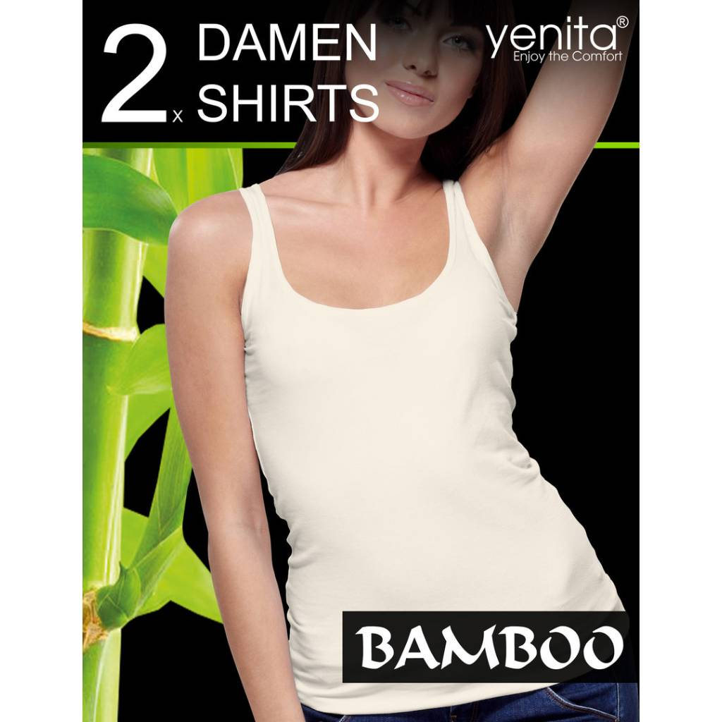 Damen BAMBUS Tank Top Pack